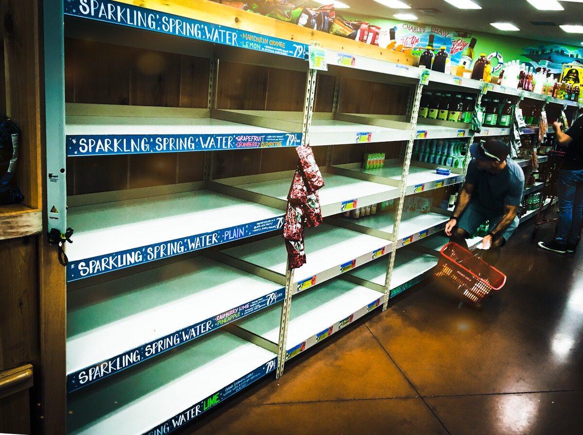 Hurricane prep empties shelves ⏰