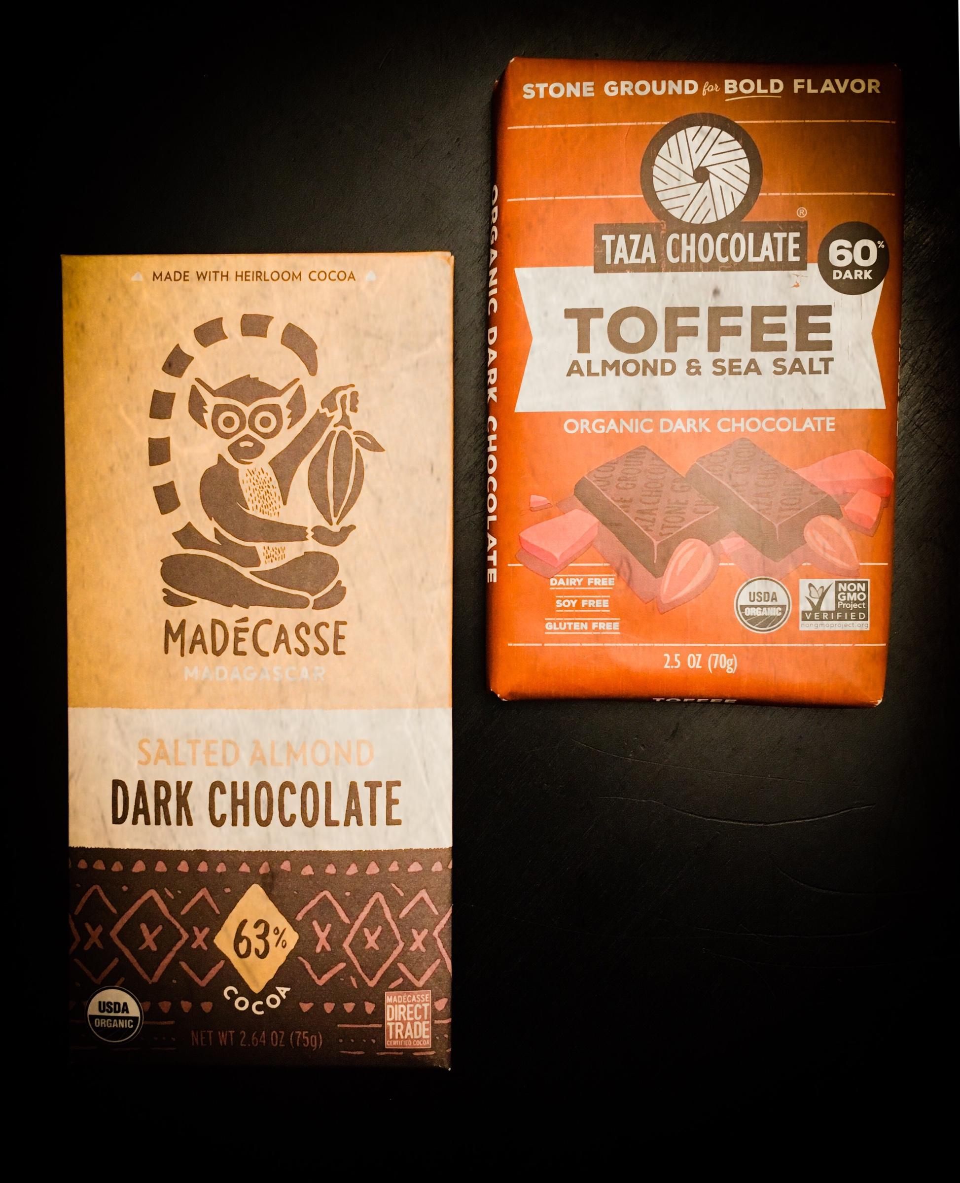 If you're gonna eat chocolate, make it fringe 🍫