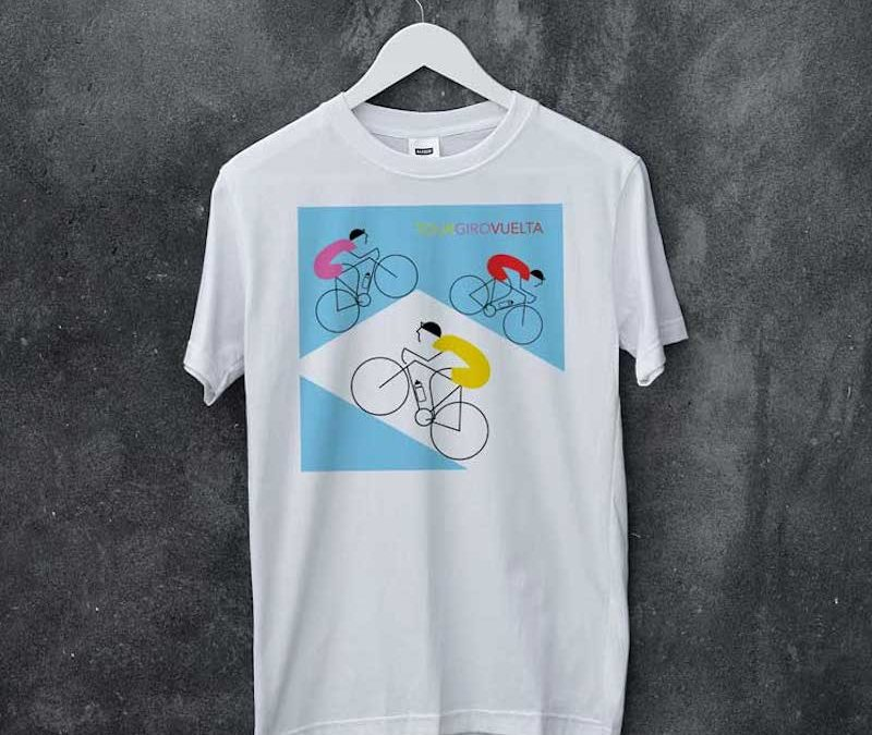 3 Tours T-Shirt exclusively for SixtyPlusCycling